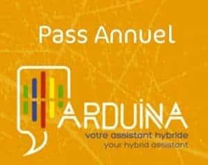 ARDUINA pass annuel