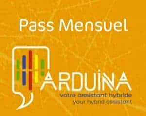ARDUINA pass mensuel