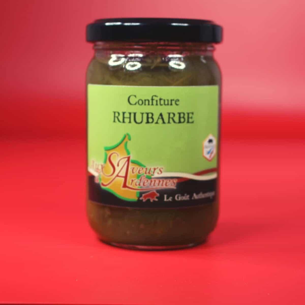 Confiture Rhubarbe, Saveurs D'ardennes, Vat