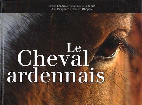 livre cheval ardennais