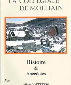 livre collegiale molhain histoire anecdotes