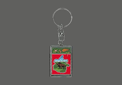 porte clé rouge