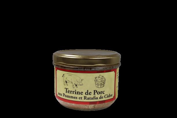 terrine porc pomme ratafia