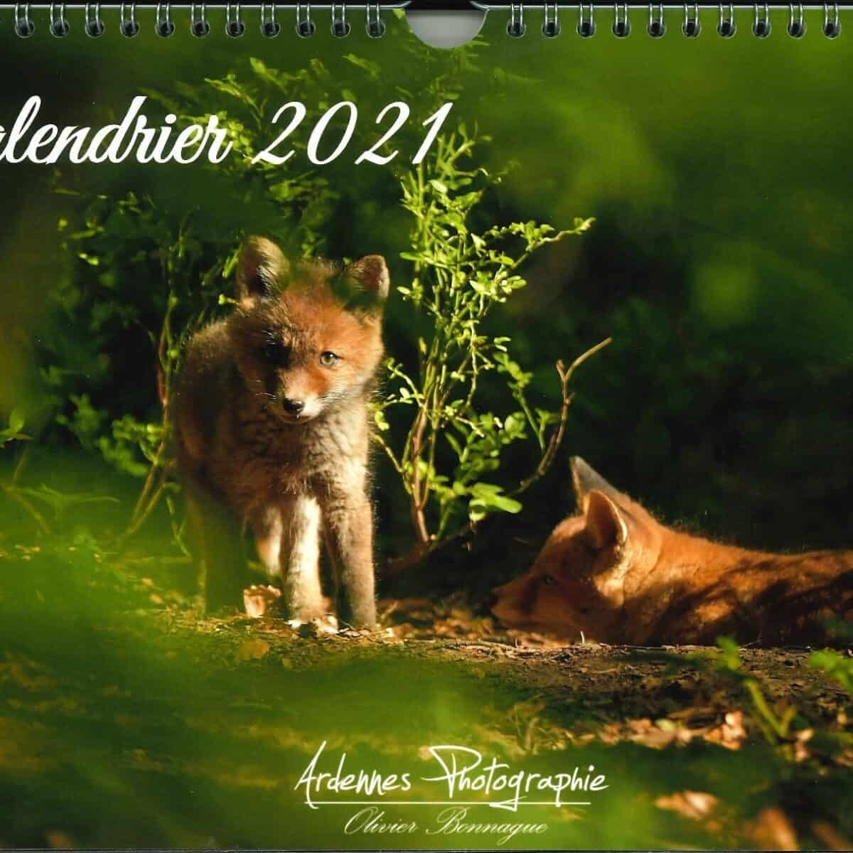 Calendrier Animalier 2021 (1)