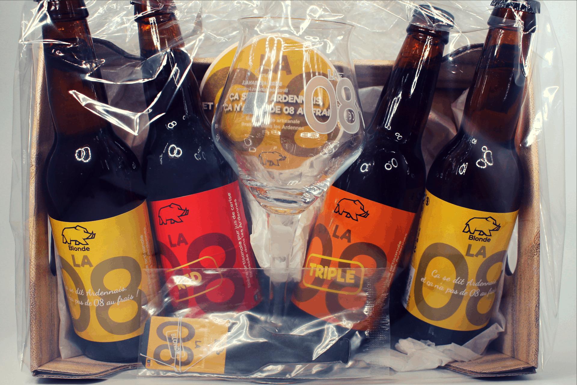 Coffret Bière, La 08, Verre, Oubliette, Pba, Ardennes, Boisson, Terroir (1)