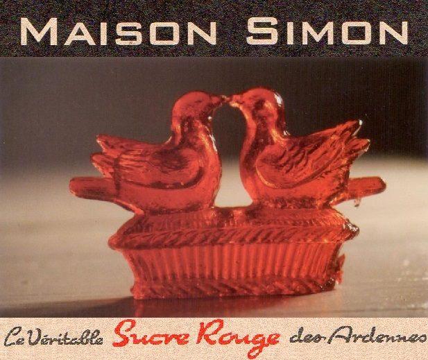 Sucres Rouges, Maison Simon, Logo